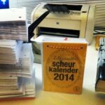 kalender met printer 2014