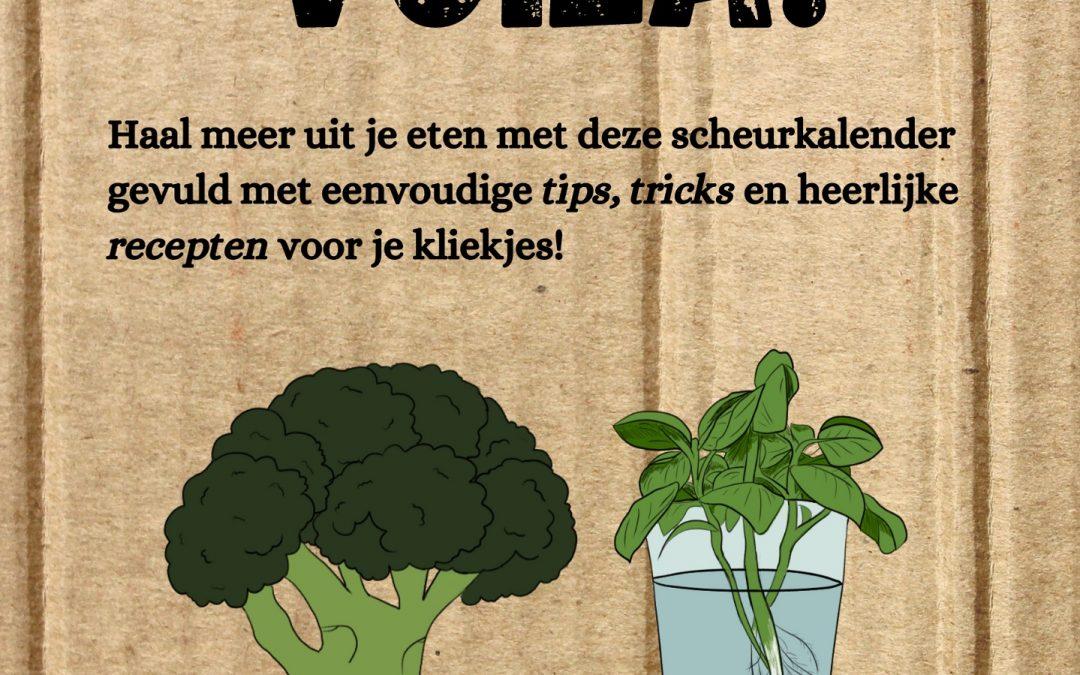 De Voedselverspillingsvrije Scheurkalender van Gerana